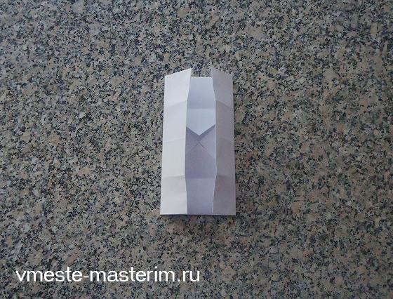 коробка из бумаги оригами