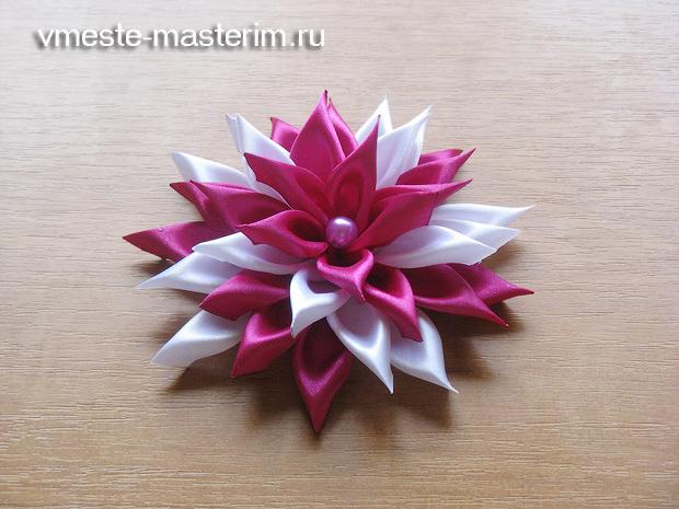 красивый цветок своими руками