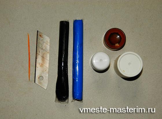 полимерная глина мастер класс серьги