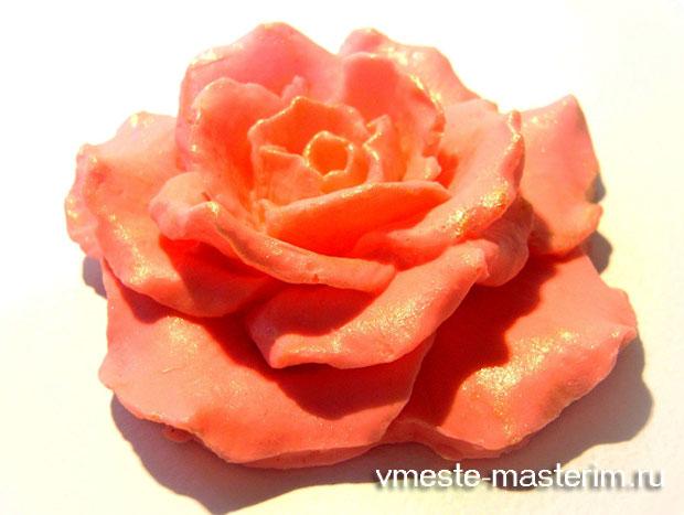 мыло роза своими руками