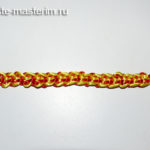 Браслет «Асимметрия» из атласных шнуров (мастер-класс, видео)