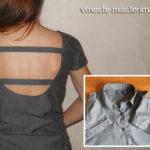 Как украсить рубашку своими руками (мастер-класс, видео)