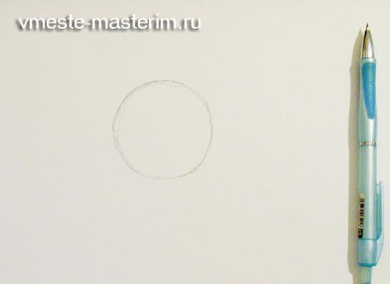 Как нарисовать подсолнух карандашом