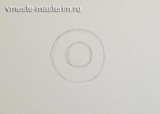 Как нарисовать подсолнух для начинающих