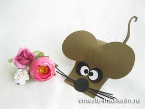 Как сделать мышку из бумаги своими руками (мастер-класс)