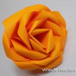 Как сделать розу оригами из бумаги поэтапно (мастер-класс)