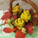 Как сделать розы из листьев своими руками (мастер-класс)