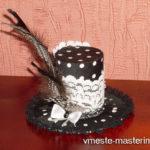 Как сделать шляпку своими руками (мастер-класс)
