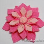 Как сделать цветок из вискозных салфеток (мастер-класс)