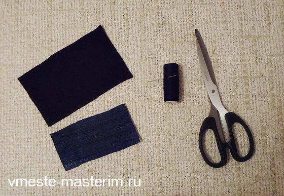 Как сшить бант бабочку из ткани своими руками (мастер-класс)