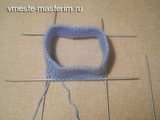 Как связать детскую шапочку спицами