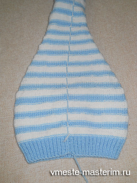 Как связать детскую шапочку спицами для начинающих