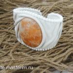 Кожаный браслет своими руками (мастер-класс)