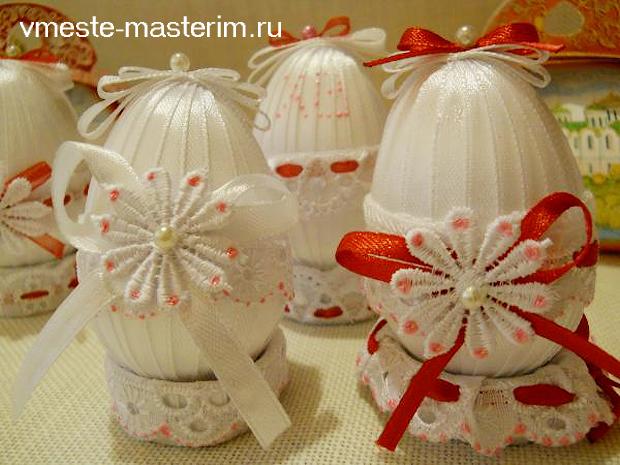 Поделка пасхальное яйцо своими руками на конкурс (мастер-класс)