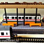 Железнодорожная платформа своими руками из картона