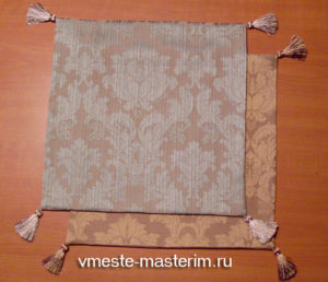 Как сшить красивую салфетку из ткани для сервировки стола