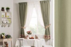 Как правильно подобрать шторы для кухни?